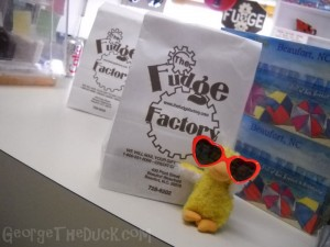 We got yummy fudge!