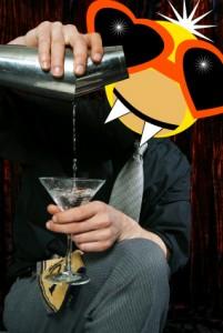 Count Duckula the barktender