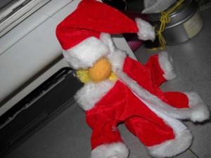 Oversized Santa Suit