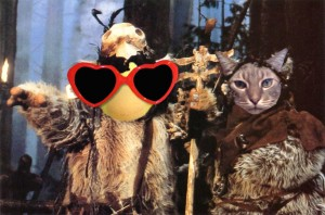 George and Morriscat Ewoks