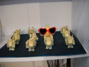 George and the lucky Buddhas