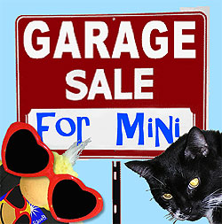 George's Garage Sale for Mini