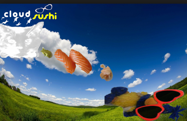 Mini Sushi Cloud by @Chattemuse